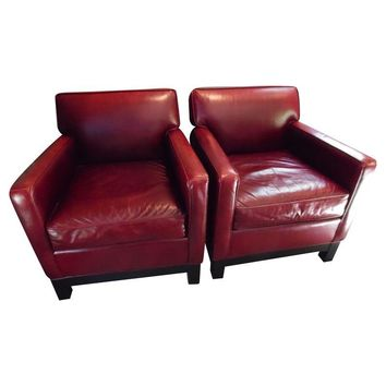 Pre Owned Mitchell + Gold Elliott Chair   A Pair