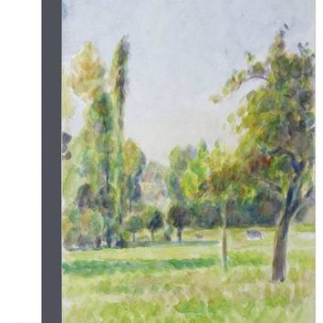 Study of the Orchard of the Artist's House at Eragny-Sur-Epte, C. 1890 Giclee Print by Camille Pissarro at Art.com