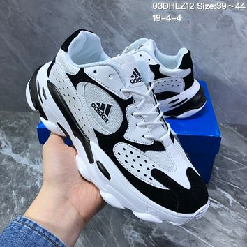 HCXX A1306 Adidas Superstar II Splicing Casual Fashion Running Shoes white Black