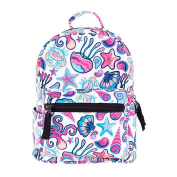 Xiniu Kids Backpack Canvas School Bag Printing Lightweight School Backpacks Fashion Girl's Mini Bags #LREW
