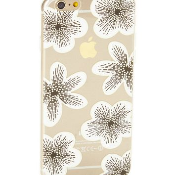 Clear Azalea Floral Soft Case for iPhone 5 / 5S & SE