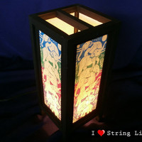The Elephant Mulberry Paper Lantern Oriental Style for home decorate (Converter plug included)