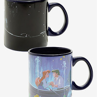 Disney The Little Mermaid Kiss The Girl Heat Reveal Mug