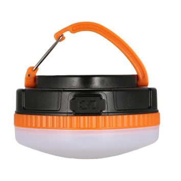 Mini Portable Camping Lights Power Banker 3W LED Camping Lantern Waterproof Tents lamp Outdoor Hiking Night Hanging lamp