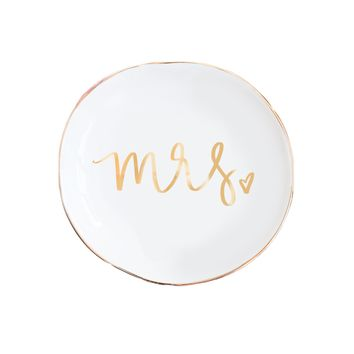 Mrs. Jewelry Dish