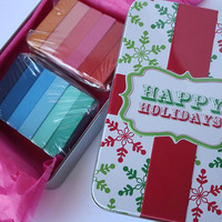 Pick 2 Color Combos - 12 Pack - Temporary Color Pastels - Christmas Gift Tin - BOGO 50% OFF SALE - Limited Quantity