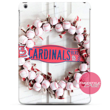 ST Louis Cardinals Team Baseball  iPad Case Case Cover Series