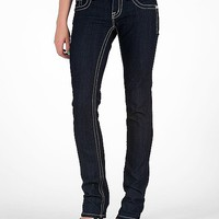 Miss Me Winged Straight Stretch Jean