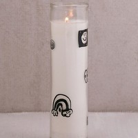 Zine Dream Glass Pillar Candle | Urban Outfitters
