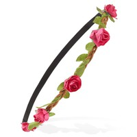 Braided Rose Headband