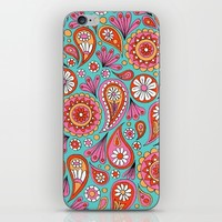 Paisley Floral iPhone & iPod Skin by Sarah Oelerich