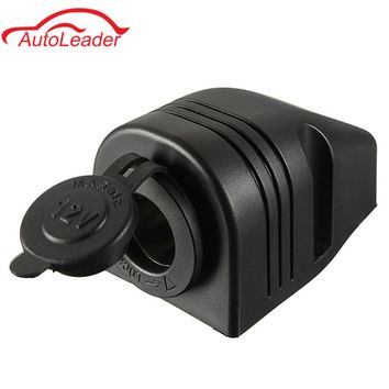12/24V Outlet Marine Boat Caravan Car Cigarette Lighter Splitter Power Socket With Waterproof Cover