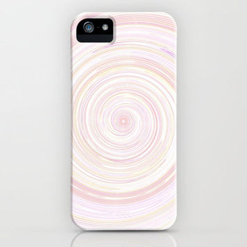 Re-Created Spin Painting No. 7 iPhone & iPod Case by Robert Lee
