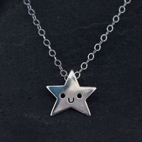 Doodllery Necklace - Silver Star | Little Moose | Cute bags, gifts, toys, jewellery and accessories from independent designers and famous brands