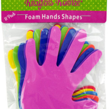 foam craft hands Case of 24