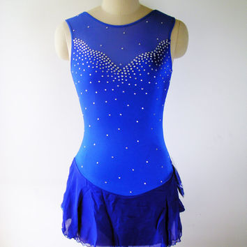 Custom Figure Skating Competition Dress -- 'Penelope'