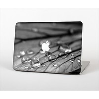 The Grayscale Watered Leaf Skin Set for the Apple MacBook Pro 13""