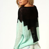 Amy Aztec Colour Block Jumper