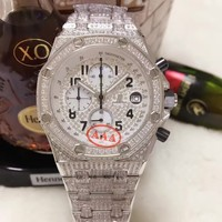 cc spbest Audemars Piguet FULL DIAMOND WHITE HOT SALE