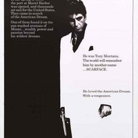 Scarface Movie Poster 24x36