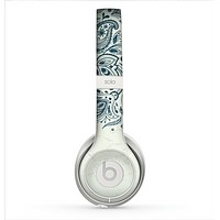 The Vintage Tan & Black Top Swirled Design Skin for the Beats by Dre Solo 2 Headphones