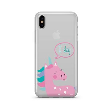 I Slay - Clear Case Cover