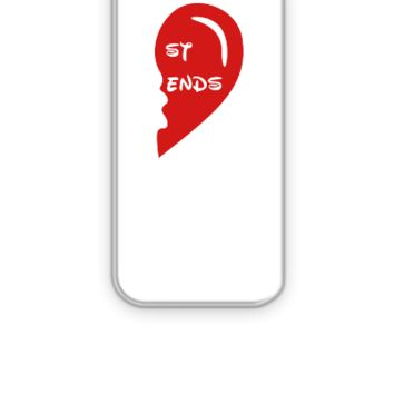 best friends right - iPhone 5&5s Case