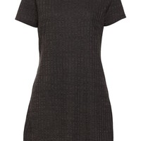 rib tshirt dress