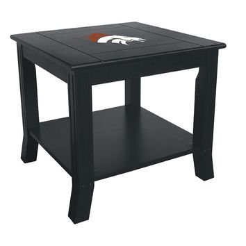 Denver Broncos NFL Side Table