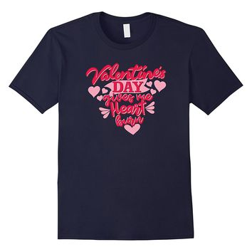 Valentine's Day Gives Me Heartburn Funny T-Shirt