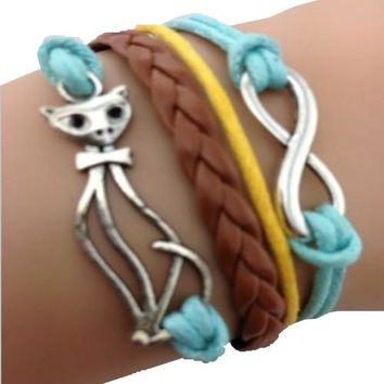 Cats are Purrfect Bracelet