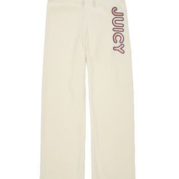 Girls Logo Viva La Juicy Velour Original Pant by Juicy Couture,