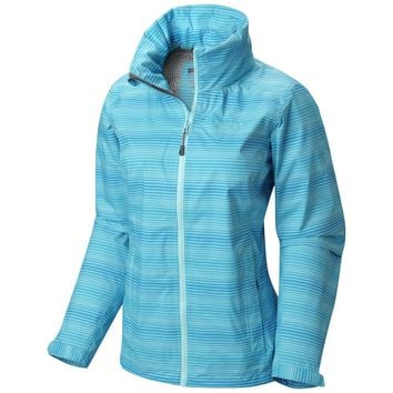 Mountain Hardwear Plasmic Ion Striped Jacket - Women's