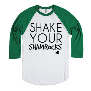 Shake your shamrocks St Patrick's Day tee t shirt