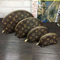 Day-First™ LV Louis Vuitton Cosmetic Bags For Accessories Travel Storage Cosmetic Bag Four Piece Suit