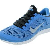 Nike Free 3.0 V5 Womens Size 5.5 Blue Mesh Sneakers Shoes
