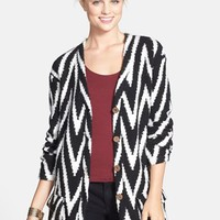 Junior Women's ISABELLA ROSE TAYLOR Boyfriend Cardigan
