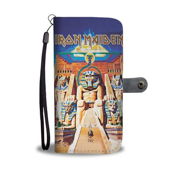 PEAPV4S Iron Maiden Powerslave Wallet Phone Case