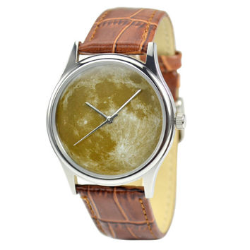 Moon Watch (Deep Green) - Free shipping worldwide