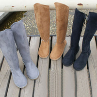 Super Slim Mix Match High Upper Back Lace-Up Cowhells+Fleeces Snow Boots For Women China Wholesale - Everbuying.com