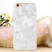 Beige Marble Stone iPhone 7 7 Plus iPhone se 5s 6 6s Plus Case Cover + Gift Box