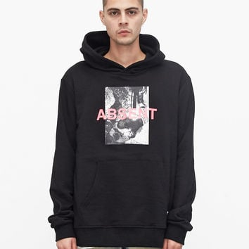 Absent (Minded) Hoodie in Black