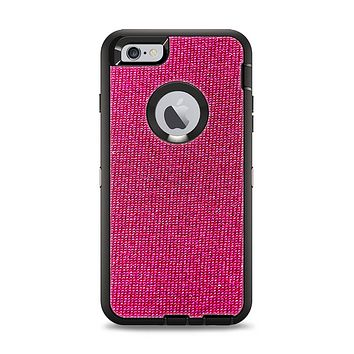 The Pink Fabric Apple iPhone 6 Plus Otterbox Defender Case Skin Set