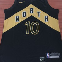 Toronto Raptors #10 Demar DeRozan City Edition Basketball Jersey