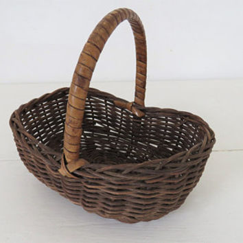 Vintage French, Miniature basket