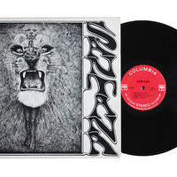 Vintage 1969 Santana Self Titled Vinyl Record LP Album | Original Cover, Classic Latin Rock Lion Illustration Art, Collection Band