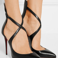 Christian Louboutin - Marlenarock 100 leather pumps