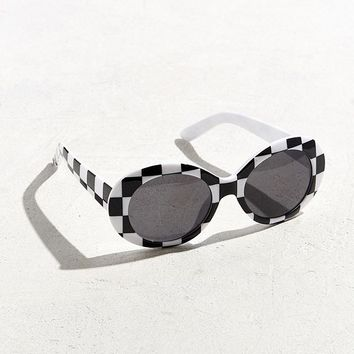 UO Plastic Oval Sunglasses | Urban Outfitters