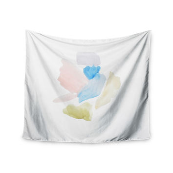 "Jennifer Rizzo ""Confetti"" Watercolor Abstract Wall Tapestry"