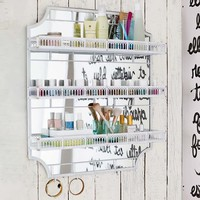 Scalloped Beauty Wall Organization